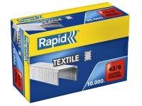 Nieten Rapid 43/6 Textiel Super Strong 10.000st