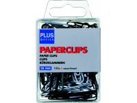 Paperclip Budget blister 28mm assorti