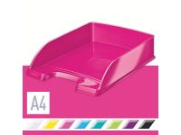 Brievenbak Leitz WOW Plus A4 roze
