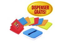 Memoblok 3M Post-it Z-Notes 76x76mm 8 blokken met gratis dispenser