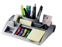Bureau Organizer 3m Post-it C50 Zilvergrijs