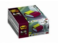 Memoblokdispenser 3M Pro tbv Post-it Z-Notes 76x76mm fuchsia