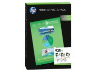 Inktcartridge HP F6U78AE 935XL 3 kleuren HC