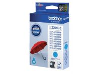 Inktcartridge Brother LC-225XLC blauw HC