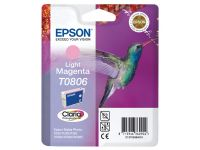 Inktcartridge Epson T0806 lichtrood