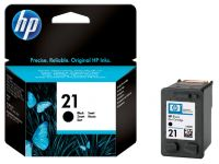 Inkcartridge HP C9351A 21 zwart