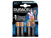 Batterij Duracell Ultra Power 4x AA