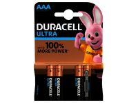 Batterij Duracell Ultra Power 4x AAA