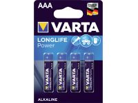 Batterij Varta Longlife Power 4x AAA
