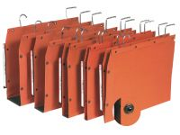 Hangmap Oblique Tub Ultimate Lateraal A4 U-bodem 50mm Oranje
