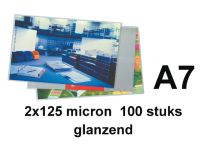 Lamineerhoes Gbc A7 125 micron glanzend