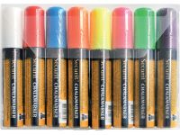 Krijtstift Securit Sma-720 Blokpunt 7-15mm Assorti 8 Stuks