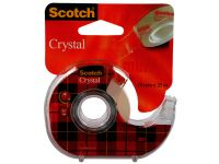 Plakband Scotch 600 19Mmx25M Crystal Clear + Handafroller