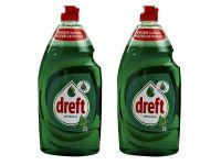 Afwasmiddel Dreft original 2x890ml