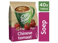 Cup-a-Soup Tbv Automaat Chinese Tomaat Zak Met 40 Porties