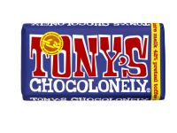 Chocolade Tony's Chocolonely reep 180gr donker melk pretzel toffee