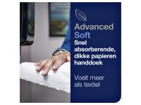 Handdoekrol Tork A 2-laags Wit Advanced 290067 6 Rollen