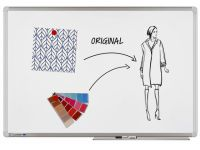 Whiteboard Legamaster Universal plus 60x90cm emaille